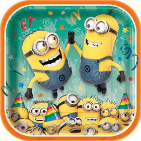 "Despicable Me 9"" Plates (8 Count)"