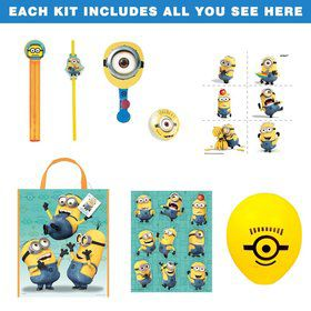 Despicable Me Birthday Party Ultimate Tableware Kit Each