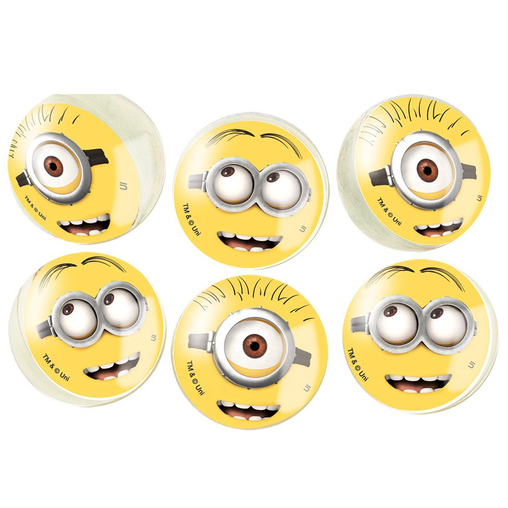 Despicable Me Bounce Balls (6 Count) BB44177