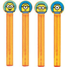 Despicable Me Bubble Tubes (4 Count)