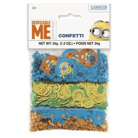 Despicable Me Confetti 1.2oz. (Each)
