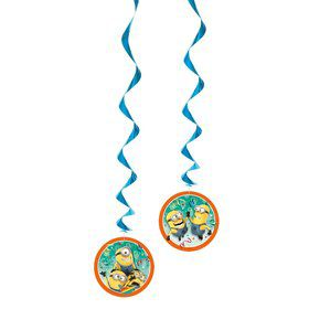 Despicable Me Hanging Swirl Decorations (Each)
