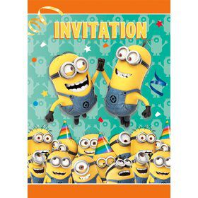 Despicable Me Invitations (8 Count)