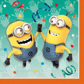 Despicable Me Lunch Napkins (16 Count)