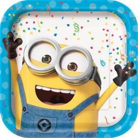 "Despicable Me Minions 9"" Dinner Plate (8)"