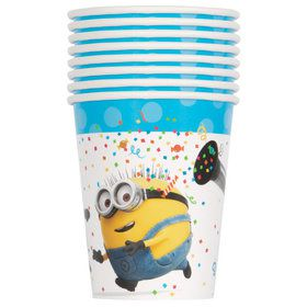 Despicable Me Minions 9oz Paper Cups (8)