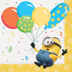Despicable Me Minions Beverage Napkins (16)