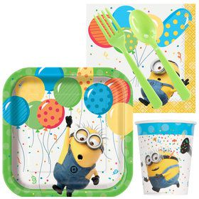 Despicable Me Minions Standard Birthday Party Tableware Kit (Serves 8)
