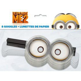 Despicable Me Paper Goggles Favors (8 Pack)