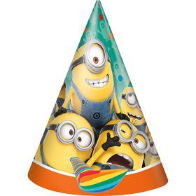 Despicable Me Party Hats (8 Count)