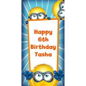Despicable Me Personalized Oversized Banner 30x60