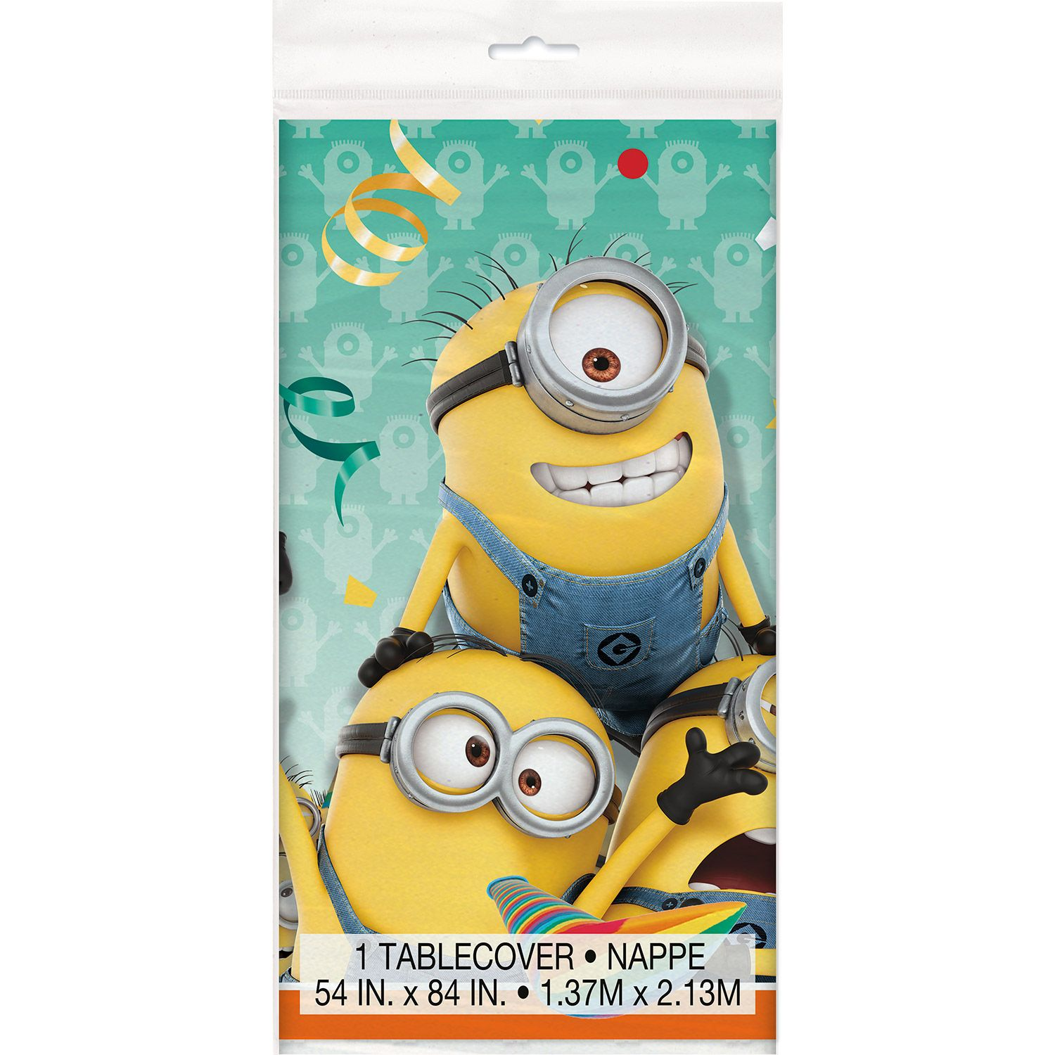 Despicable Me Plastic Table Cover (Each) BB44153
