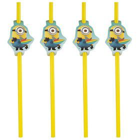 Despicable Me Straws (24 Count)