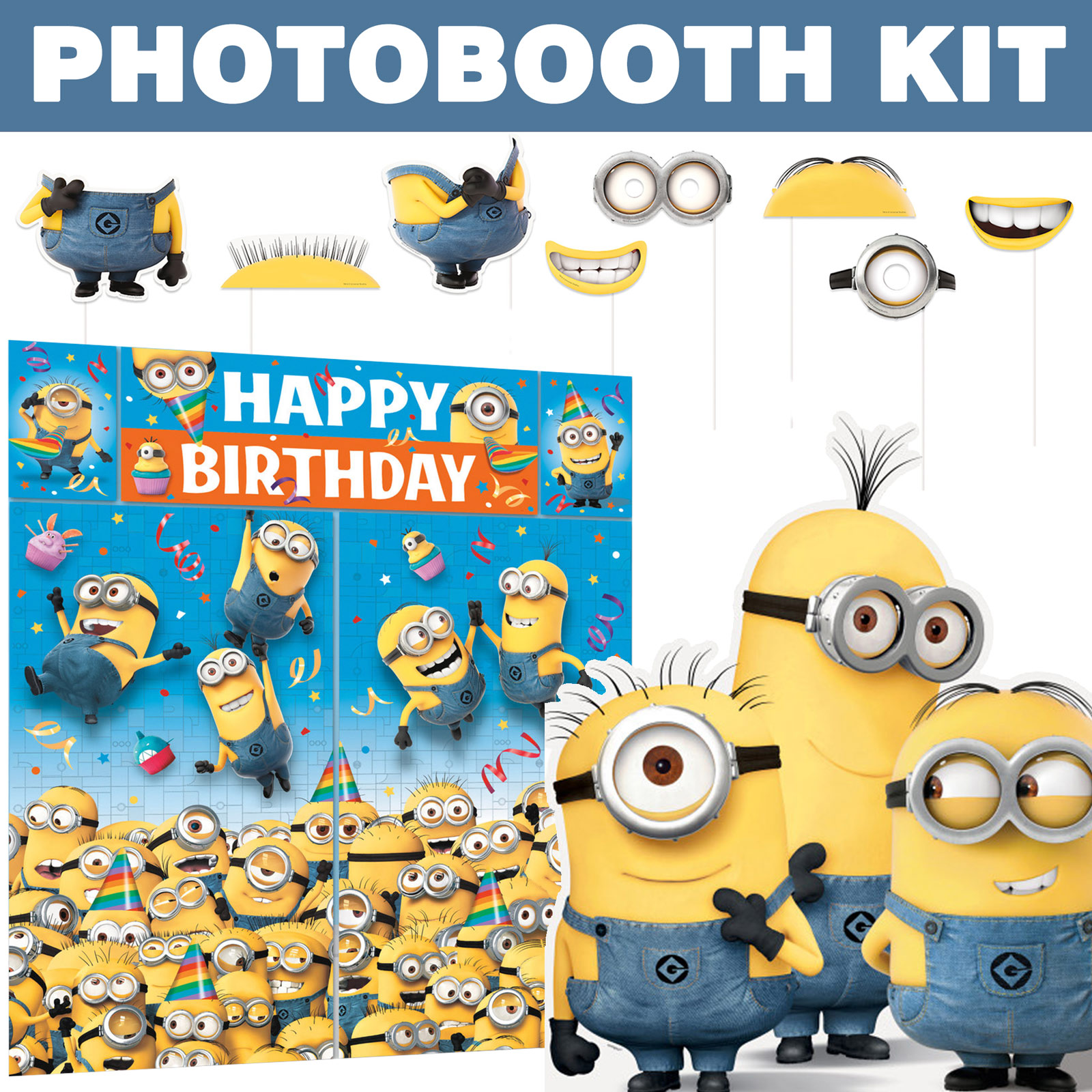 Despicable Me Ultimate Photo Booth Kit BBKIT1030U