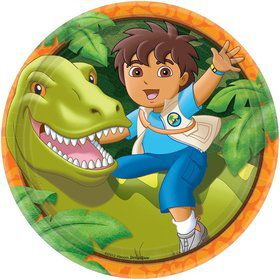 Diego's Biggest Rescue 9' Plates (Set Of 8)