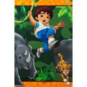 Diego's Biggest Rescue Pastic Table Cover (Each)