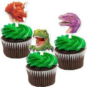 Dinosaur Adventure Cupcake Picks (12-pack)