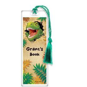 Dinosaur Adventure Personalized Bookmark (each)
