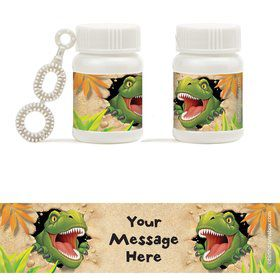 Dinosaur Adventure Personalized Bubbles (18 Pack)