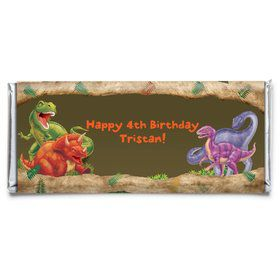 Dinosaur Adventure Personalized Candy Bar Wrapper (Each)