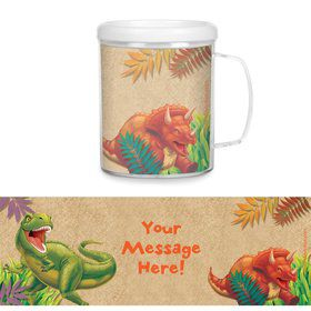 Dinosaur Adventure Personalized Favor Mugs (Each)