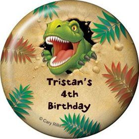 Dinosaur Adventure Personalized Magnet (each)