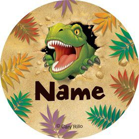 Dinosaur Adventure Personalized Mini Stickers (Sheet of 20)