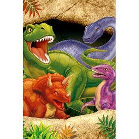 Dinosaur Adventure Table Cover (each)