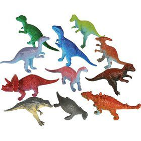 "Dinosaur Assortment 2"" (12 Pack)"