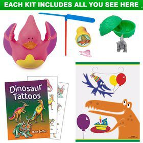 Dinosaur Birthday Party Favor Kit