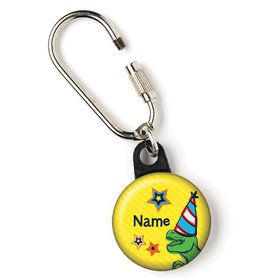 "Dinosaur Fun Personalized 1"" Carabiner (Each)"