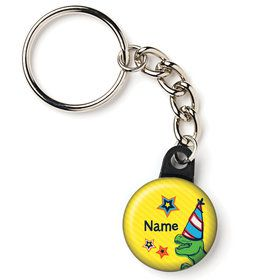 "Dinosaur Fun Personalized 1"" Mini Key Chain (Each)"