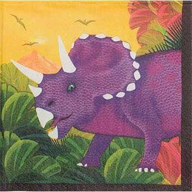 Dinosaur Party Beverage Napkins (16-pack)