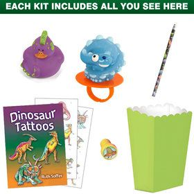 Dinosaur Party Favor Kit (for 1 Guest)