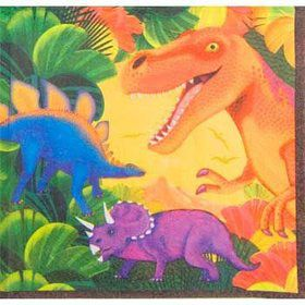 Dinosaur Party Napkins (16-pack)