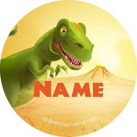 Dinosaur Party Personalized Mini Stickers (Sheet of 20)