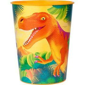 Dinosaur Party Plastic Party Cup (each)