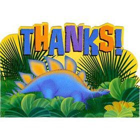 Dinosaur Party Thank You Notes (8-pack)