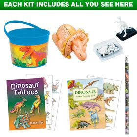 Dinosaur Party Ultimate Favor Kit (for 1 Guest)