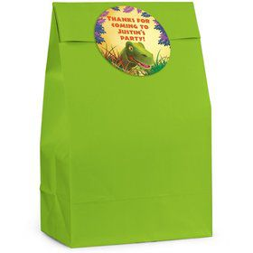 Dinosaur Personalized Favor Bag (Set Of 12)