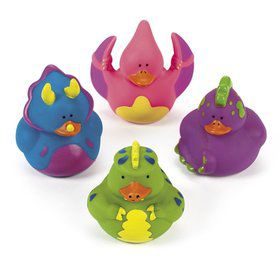 Dinosaur Rubber Duckies(12 Pack)