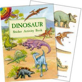Dinosaur Sticker Book (each)