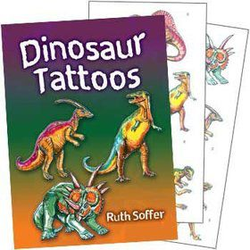 Dinosaur Tattoo Book (each)