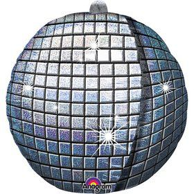 "Disco Ball 15"" 3D Balloon (Each)"