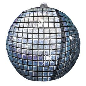 Disco Ball Foil Balloon