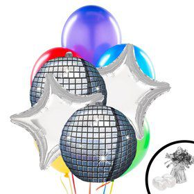 Disco Glow Balloon Bouquet