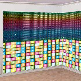 Disco Wall Decorating Kit (Each)