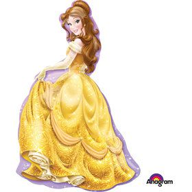 "Disney Beauty and the Beast 39"" Princess Belle Shape Balloon (1)"