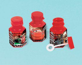 Disney Cars .6oz Bubble Favors (12 Pack)