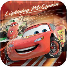 "Disney Cars 9"" Luncheon Plates (8 Pack)"
